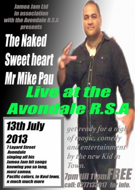 The Naked Sweet Heart,Mr Mike Pau