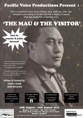 The Mau and the Visitor