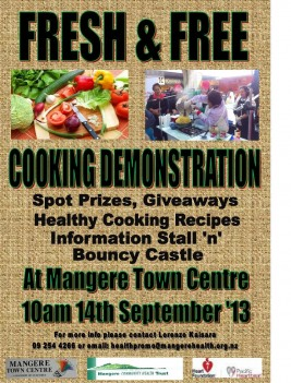 Fresh And Free Cooking Demonstration