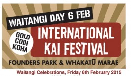Waitangi Day 2015 – International Kai Festival