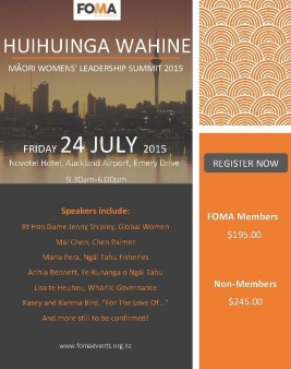 Maori Women's Leadership Summit 2015