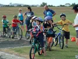 Out and About – Kids Tri Training