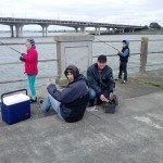 Free Fishing for Kids off Mangere