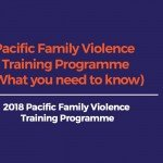 Family Violence Training Programme (What you need to know) – Nov 23rd