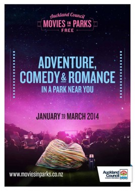 Auckland Council's Movies In The Park 2014