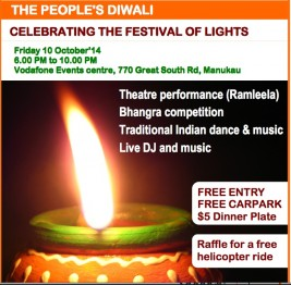 Manukau Diwali – The People's Diwali