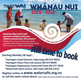Swimming Lessons for the Whanau