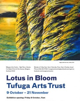 Lotus in Bloom | Tufuga Arts Trust