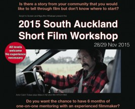 2015 South Auckland Short Film Workshop
