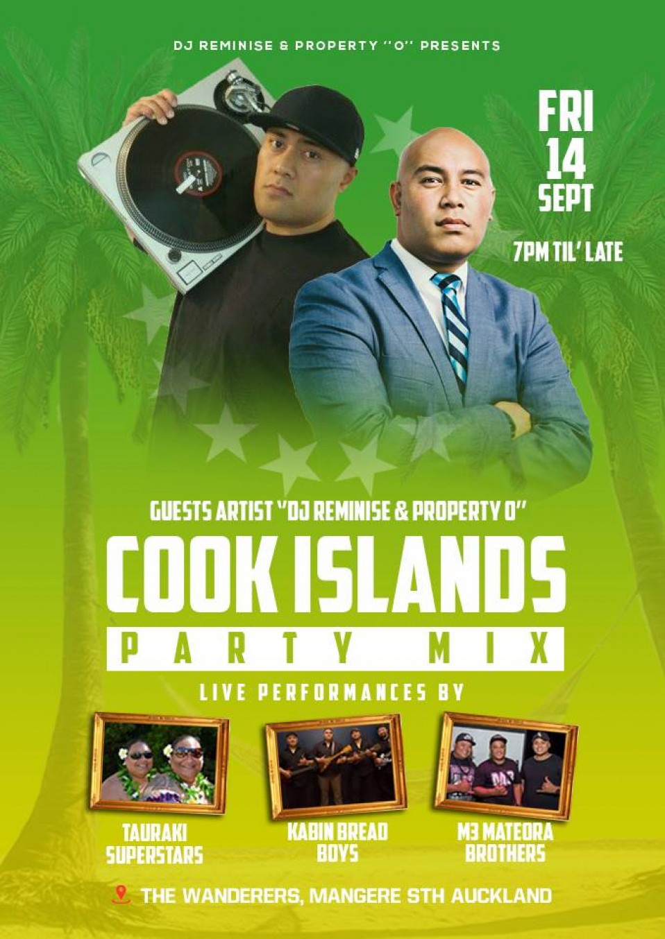 Cook Islands PARTY MIX