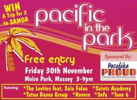 Pacific In The Park – November 30th