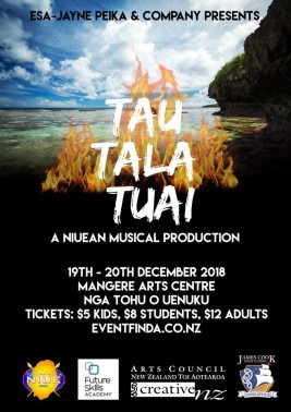 Tau Tala Tuai – A Niuean Musical Production – Dec 19th – 20th