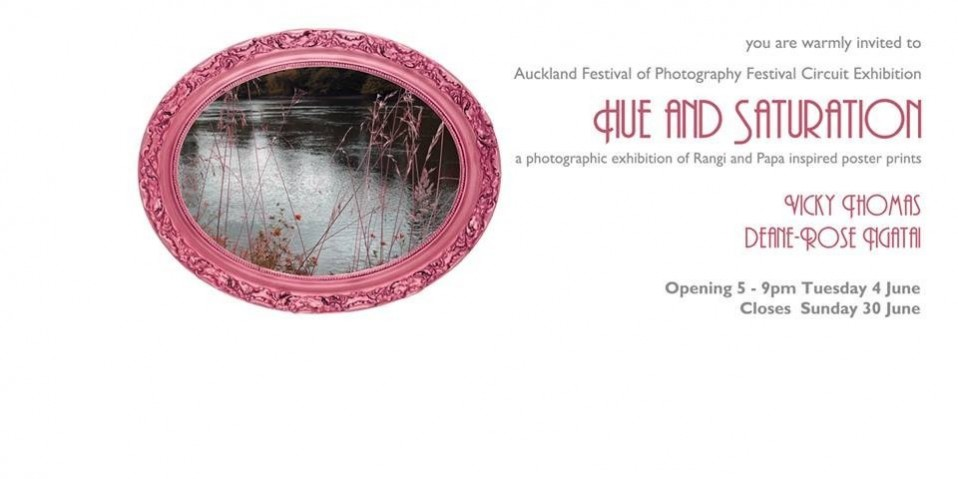 Auckland Festival Of Photography, Hue and Saturation
